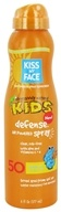 Kiss My Face - Kids Defense Sunscreen with Any Angle Air Power Spray 50 SPF - 6 oz.