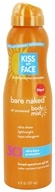 Kiss My Face - Bare Naked Sunscreen with Air Powered Body Mist 30 SPF - 6 oz.