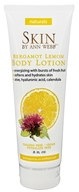 Skin by Ann Webb - Naturals Body Lotion Bergamot Lemon - 8 oz.