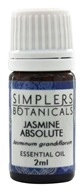 Simplers Botanicals - Essential Oil Jasmine Absolute - 2 ml.