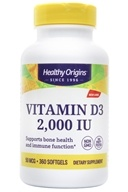 Healthy Origins - Vitamin D3 2000 IU - 360 Softgels