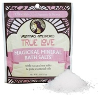 Valentina's Home Brewed - Magickal Mineral Bath Salts Single Serve True Love - 2.5 oz.