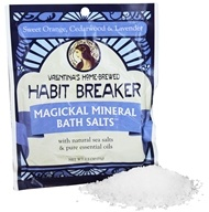 Valentina's Home Brewed - Magickal Mineral Bath Salts Single Serve Habit Breaker - 2.5 oz.