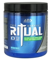 ANS Performance - Ritual Pre-Workout Icy Blue Freeze - 360 Grams