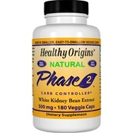 Healthy Origins - Natural Phase 2 Carb Controller 500 mg. - 180 Capsules