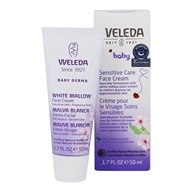 Weleda - Baby Derma White Mallow Face Cream Fragrance Free - 1.7 oz.