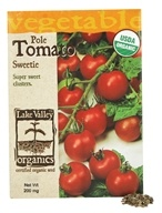 Lake Valley Seed - Organic Pole Tomato Sweetie Seeds - 200 mg.