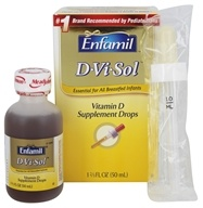 Enfamil - D Vi Sol Vitamin D Supplement Drops 400 IU - 1.66 oz.