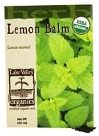 Lake Valley Seed - Organic Lemon Balm Seeds - 250 mg.