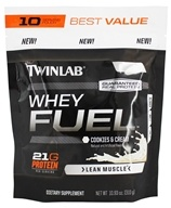 Twinlab - Whey Fuel Pouch Cookies & Cream - 10.93 oz.