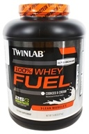 Twinlab - 100% Whey Fuel Lean Muscle Cookies & Cream - 5 lbs.