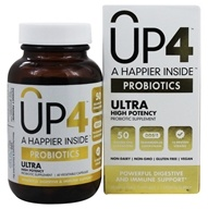 UP4 - Probiotics Ultra Probiotic Supplement with DDS-1 - 60 Vegetarian Capsules