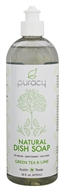 Puracy - All Natural Dish Soap Green Tea & Lime - 16 oz. LUCKY PRICE