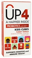 UP4 - Probiotics Kids Cubes Probiotic Supplement with DDS-1 Yummy Vanilla - 60 Chewables
