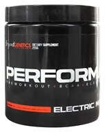 Shredz Supplements - Performance Preworkout BCAA Electrolyte Blend Electric Mango - 255 Grams