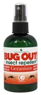 Way Out Wax - Bug Out! Insect Repellent Spray Geranium - 4 oz.