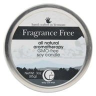 Way Out Wax - Soy Wax Candle Medium Travel Tin Fragrance Free - 3 oz.