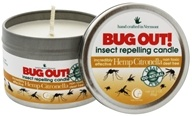 Way Out Wax - Bug Out! Insect Repelling Candle Hemp Citronella - 3 oz.