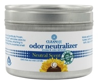 Way Out Wax - CleanAir Odor Neutralizer Candle Medium Travel Tin Neutral Scent - 3 oz.