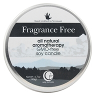 Way Out Wax - Soy Wax Candle Large Travel Tin Fragrance Free - 6.7 oz.