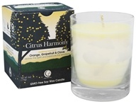 Way Out Wax - Soy Wax Candle Clear Glass Tumbler Citrus Harmony - 6 oz.