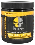 HIT Supplements - Peak Performance Elite Pre-Workout Blend Pineapple Mango - 328.5 Grams