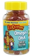 L'il Critters - Omega-3 DHA Natural Flavors - 60 Gummies