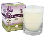 Way Out Wax - Soy Wax Candle Clear Glass Tumbler Lavender - 6 oz.