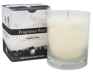Way Out Wax - Soy Wax Candle Clear Glass Tumbler Fragrance Free - 6 oz.