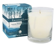 Way Out Wax - Soy Wax Candle Clear Glass Tumbler Escentual Love - 6 oz.
