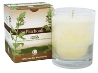 Way Out Wax - Soy Wax Candle Clear Glass Tumbler Patchouli - 6 oz.
