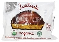 Justin's Nut Butter - Peanut Butter Cups Milk Chocolate - 5 oz.