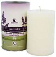 Way Out Wax - Pillar Candle Lavender
