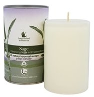 Way Out Wax - Pillar Candle Sage - 2.75