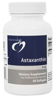 Designs For Health - Astaxanthin 6 mg. - 60 Softgels