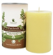 Way Out Wax - Pillar Candle Patchouli - 2.75