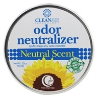 Way Out Wax - CleanAir Odor Neutralizer 3 Wick Candle Neutral Scent - 32 oz.