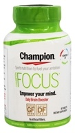 Champion Naturals - Focus Daily Brain Booster - 60 Tablets