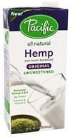 Pacific Natural Foods - All Natural Hemp Milk Unsweetened Original - 32 oz.