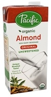 Pacific Natural Foods - Organic Almond Milk Unsweetened Original - 32 oz.