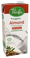 Pacific Foods - Organic Almond Milk Unsweetened Original - 32 fl. oz.
