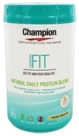 Champion Naturals - Fit Natural Daily Protein Blend Natural Vanilla Bean - 27.5 oz.