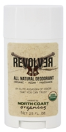 North Coast Organics - All Natural Deodorant Revolver - 2.5 oz.