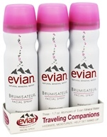 Evian - Brumisateur Facial Spray Traveling Companions - 3 x 1.7 oz.