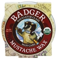 Badger - Mustache Wax - 0.75 oz.