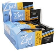 Zing Bars - 100% Natural Nutrition Bar Coconut Cashew Crisp - 1.76 oz.
