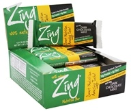 Zing Bars - 100% Natural Nutrition Bar Dark Chocolate Mint - 1.76 oz.