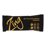 Zing Bars - 100% Natural Nutrition Bar Dark Chocolate Hazelnut - 1.76 oz.