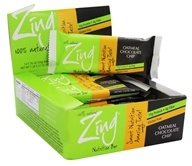 Zing Bars - 100% Natural Nutrition Bar Oatmeal Chocolate Chip - 1.76 oz.