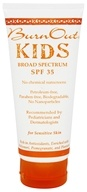 BurnOut - Kids Physical Sunscreen 35 SPF - 3.4 oz.